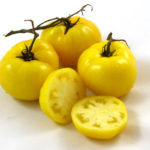 Picture: Tomato Sean's Yellow Dwarf (courtesy Bunny Hop Seeds)
