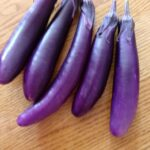 Eggplant Ping Tung (customer one days harvest)
